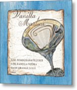 Vanilla Martini Metal Print