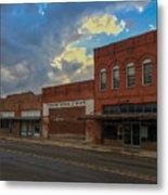#vanishingtexas Street Scene - Rosebud Texas Metal Print