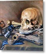 Vanitas After Pieter Claesz Metal Print