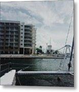 Varadero Marina Metal Print