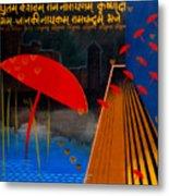Varanasi Truelly Infinitive Metal Print