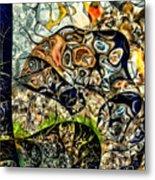 variation of Kardinsky Metal Print