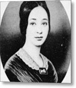 Varina Howell Davis (1826-1906) Metal Print