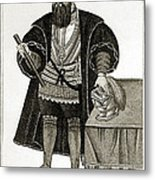 Vasco Da Gama, Portuguese Explorer Metal Print