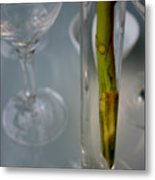 Vase Of Centre Pompidou Metal Print