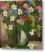 Vase Of Flowers #1 Metal Print