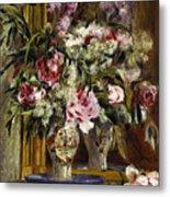 Vase Of Flowers, 1871  Metal Print