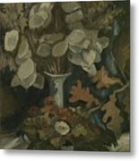 Vase With Honesty Nuenen, Autumn - Winter 1884 Vincent Van Gogh 1853  1890 Metal Print