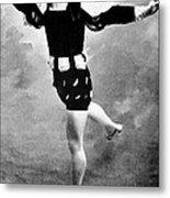 Vaslav Nijinsky, Ballet Dancer Metal Print