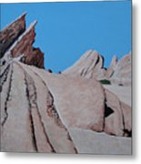 Vasquez Rocks 4 Metal Print