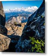 Vastly Majestic High Sierras Metal Print
