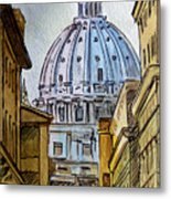 Vatican City Metal Print by Irina Sztukowski