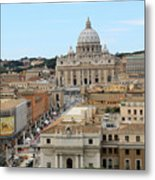 Vatican Rome Metal Print