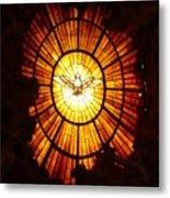 Vatican Window Metal Print