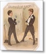 Vaudville Sports Metal Print