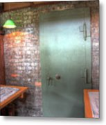Vault At Frank Lloyd Wright Home And Studio In Oak Park, Il Metal Print