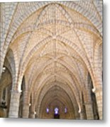 Vaulted Ceiling And Arches Metal Print