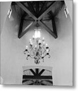Vaulted Ceiling Metal Print