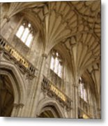 Vaulted Ceiling Metal Print
