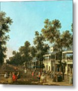 Vauxhall Gardens The Grand Walk Metal Print
