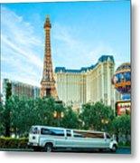 Vegas Vip Metal Print