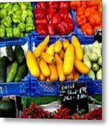 Vegetables Metal Print