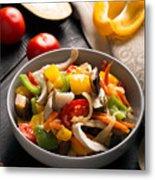 Vegetables Stir Fry Metal Print
