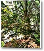 Vegetation Takeover Metal Print