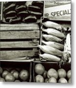Veggies Metal Print