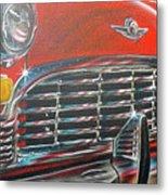 Vehicle- Grill Metal Print