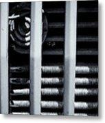 Vehicle Radiator Abstract II Metal Print