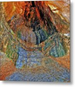 Veins Of The Earth Metal Print