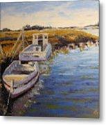 Veldrift Boats Metal Print by Yvonne Ankerman