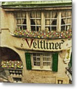 Veltliner Keller Metal Print