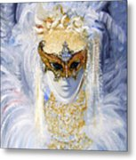 Venetian Beauty Metal Print