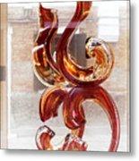Venetian Glass Style Metal Print
