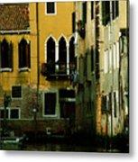 Venetian Gold Metal Print