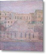 Venetian Harbour, Chania Metal Print