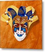 Venetian Mask 2 Metal Print