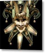 Venetian Mask Metal Print by Fabrizio Troiani