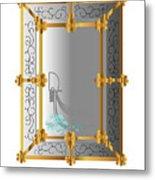 Venetian Mirror Metal Print