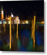 Venetian Nights Metal Print