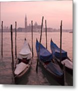 Venetian Sunset Metal Print