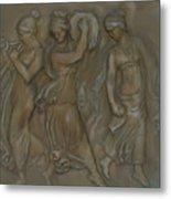 Venetian Water Bearer's Metal Print