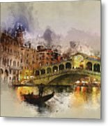 Venezia, Canal Grande Metal Print