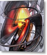 Vengeance Abstract Metal Print