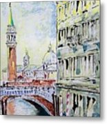 Venice 7-2-15 Metal Print by Vladimir Kezerashvili