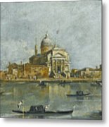 Venice. A View Of The Church Of San Giorgio Maggiore Metal Print