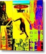 Venice Beach Scenes Metal Print