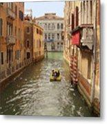 Venice Canal 2 Metal Print
